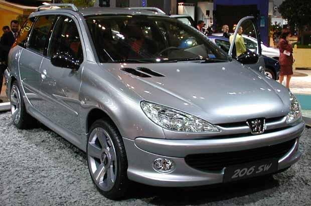 2010 Peugeot 206 SW Concept photo - 1